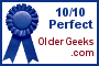 10/10 Perfect on Older Geeks.com